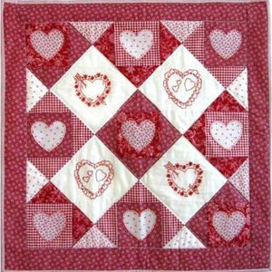 Free Valentine's Day Quilt Patterns