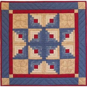 First Quilt – Selecting a Pattern | Quilters Showcase : log cabin quilt design layouts - Adamdwight.com