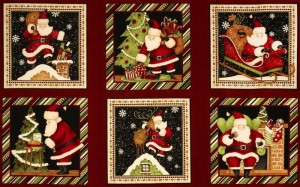 Christmas Quilt Fabric Panels | Quilters Showcase : christmas quilting panels - Adamdwight.com