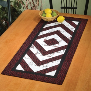 Bracket Brigade table runner pattern