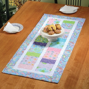 How Charming to Sew You table runner pattern