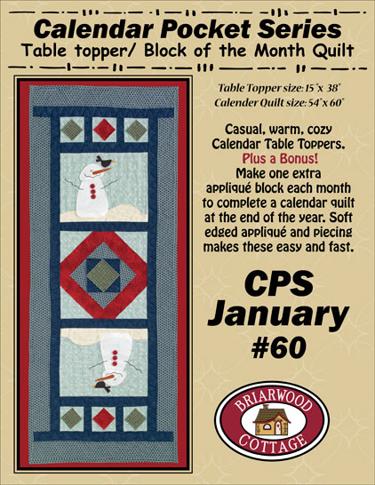 Calendar Pocket January