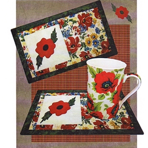 Remember Beverage Mat Pattern