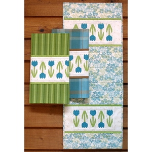 Spring Pickins' Table Runner Towel pattern