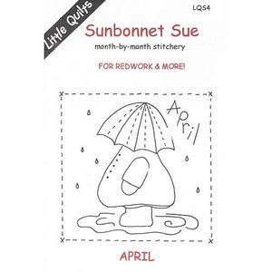 Sunbonnet Sue - April