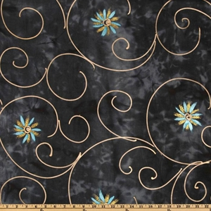 Granite Beauty Dark Gray quilt fabric