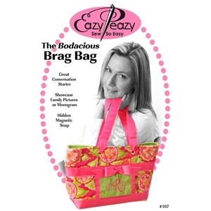 Tote bag with ribbon