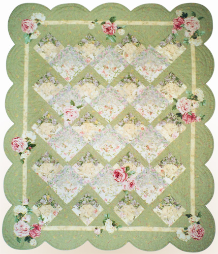 Garden trellis quilt patterns quilters showcase for Garden trellis designs quilt patterns