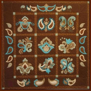 Blue Brown quilt