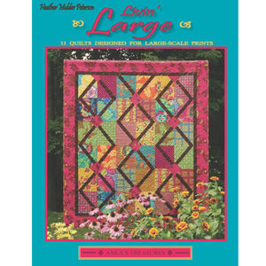 Quilt patterns for large scale prints