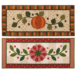 Pumpkin And Dresden Plate · Fall Into Winter Offers Two Table Runner ...