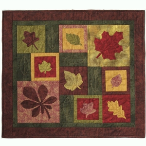 fall or autumn quilt