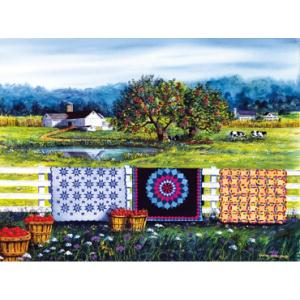Country scene quilts on line puzzle