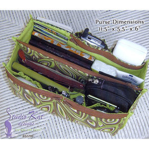 Encore Purse Insert Pattern